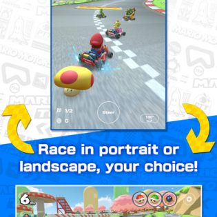 Mario Kart Tour screen 1