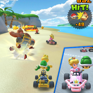 Mario Kart Tour screen 4