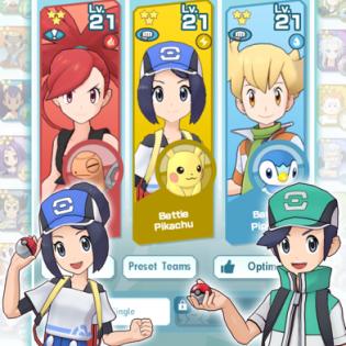 Pokémon Masters screen 4