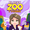 Blocky Zoo Tycoon - Idle Clicker Game! logo