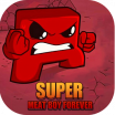 Hints : Super Meat Boy Forever Game logo