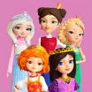 Little Tiaras: Princess games, 3D runner for girls logo