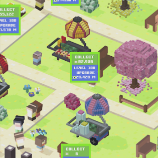 Blocky Zoo Tycoon - Idle Clicker Game! screen 5
