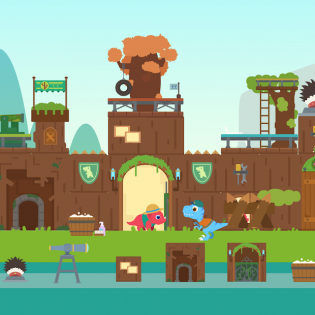 Dinosaur City - Magical Block Kingdom for Kids screen 6