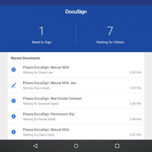 DocuSign screen 9