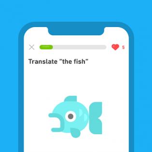 Duolingo screen 3