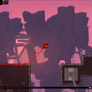 Hints : Super Meat Boy Forever Game screen 10