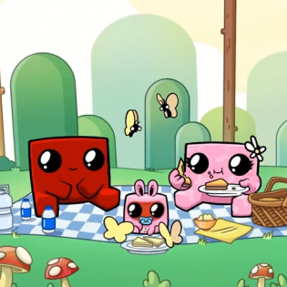 Hints : Super Meat Boy Forever Game screen 6
