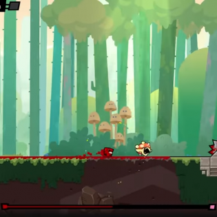 Hints : Super Meat Boy Forever Game screen 9