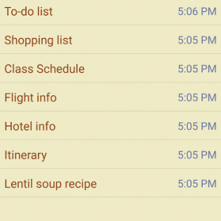 Notepad & To Do List screen 1