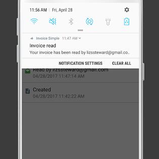 Invoice & Estimate on the Go screen 4