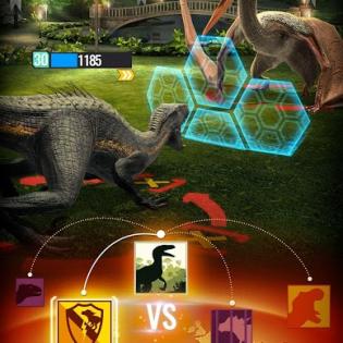 Jurassic World Alive screen 4