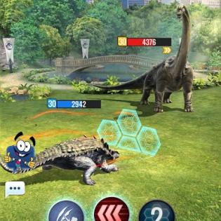 Jurassic World Alive screen 8
