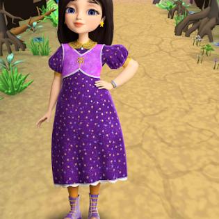 Little Tiaras: Princess games, 3D runner for girls screen 2