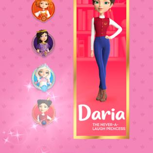 Little Tiaras: Princess games, 3D runner for girls screen 3
