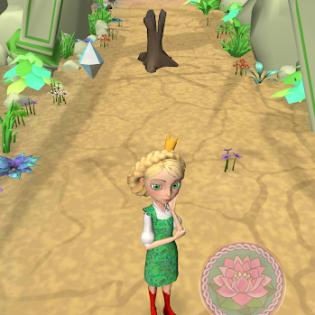 Little Tiaras: Princess games, 3D runner for girls screen 4