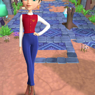 Little Tiaras: Princess games, 3D runner for girls screen 8