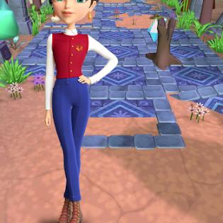 Little Tiaras: Princess games, 3D runner for girls screen 9