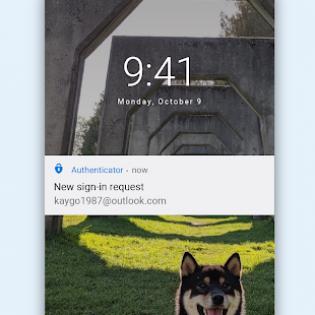 Microsoft Authenticator screen 4