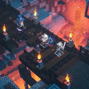 Minecraft Dungeons screen 3