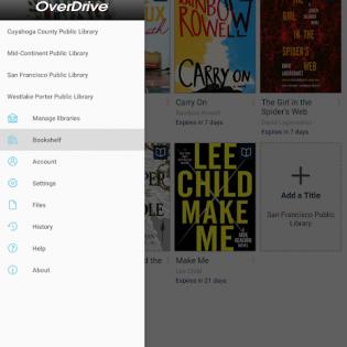OverDrive screen 11