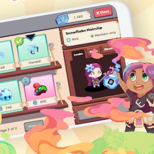 Prodigy Math Game screen 1
