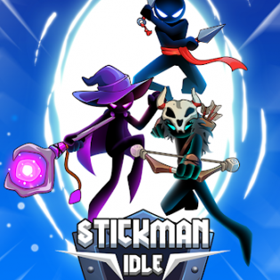 Stickdom Idle: Taptap Titan Clicker Heroes screen 1