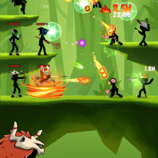 Stickdom Idle: Taptap Titan Clicker Heroes screen 7