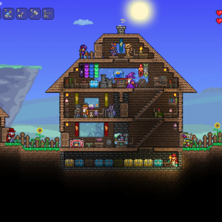 Terraria screen 1