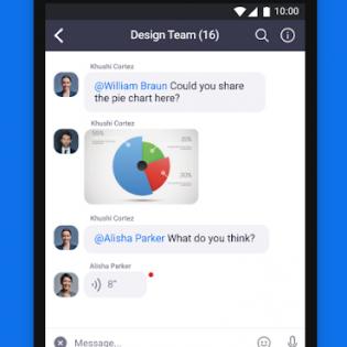 ZOOM Cloud Meetings screen 2