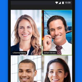 ZOOM Cloud Meetings screen 3