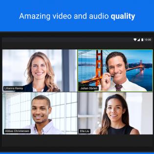 ZOOM Cloud Meetings screen 8