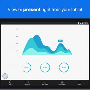 ZOOM Cloud Meetings screen 9